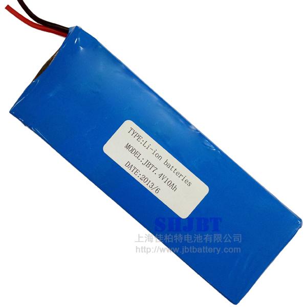 恒流-恒压 电池组尺寸 :19*59*160mm 循环寿命:>500次 锂电池组包装图片